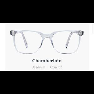 Warby Parker Chamberlain Frames, NON RX NEW
